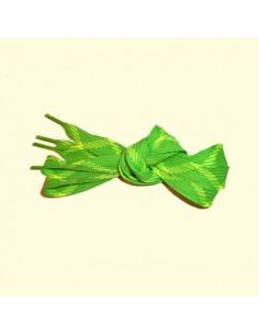 Veters groen-geel 18mm - 140cm