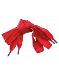 Veters katoen rood 22mm - 120cm