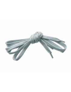 Veters glitter grijs-zilver 9mm - 110cm