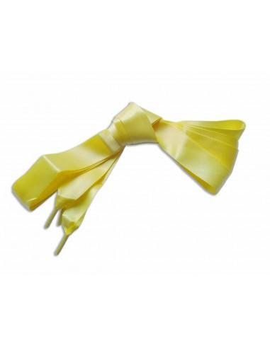 Veters satijn lint geel 20mm - 120cm