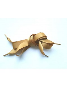 Veters satijn lint goud 15mm
