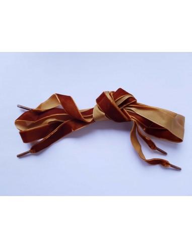 Veters fluweel caramel