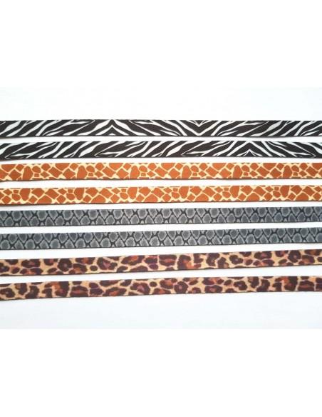 Veters dierenprint set van 4 paar - 120cm