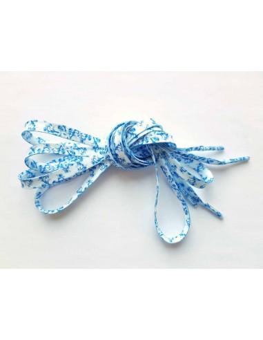 Veters delfts blauw 10mm