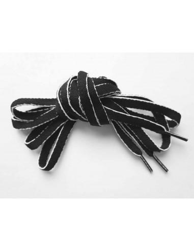 Veters zwart-wit 9mm