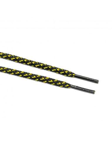 Veters zwart-geel rond 6mm