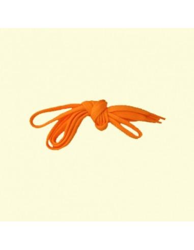 Veters oranje 9mm - 100cm