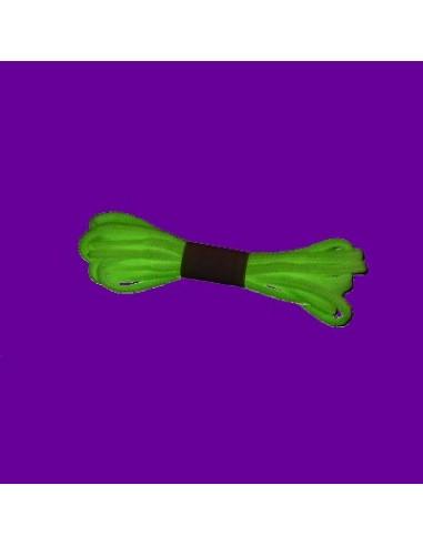 Veters glow-in-the-dark rond - 100cm