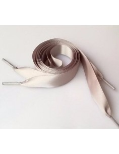Veters lint wit 15mm - 120cm