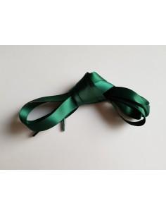 Veters satijn lint groen 15mm - 120cm