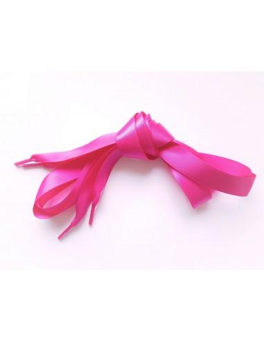 Veters satijn lint roze 15mm - 120cm