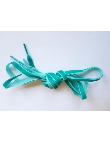 Veters fluweel turquoise 10mm - 120cm