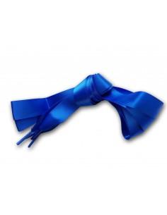 Veters satijn lint blauw 20mm - 120cm