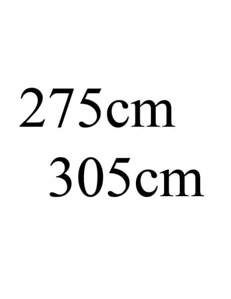 Veters 275 - 305cm lang